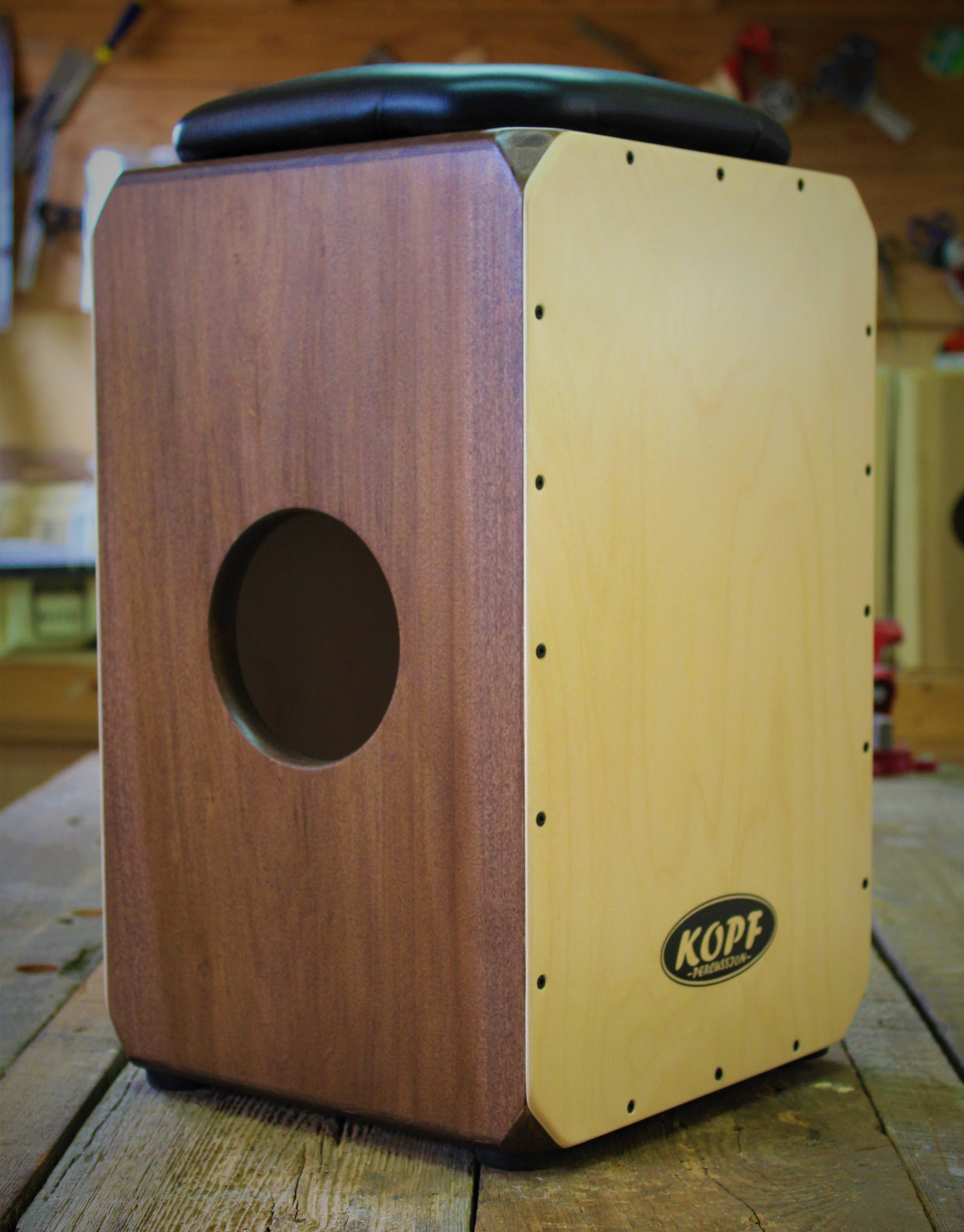 acoustic drum box